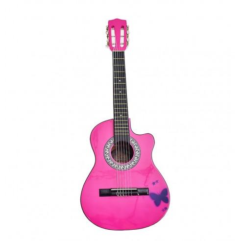 Guitarra Acústica de estudio Infantil Con Boquete
