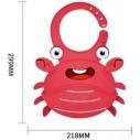 Babero de Silicona Animal Baby Bib Sea