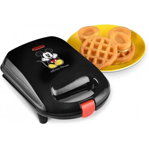 Máquina Para Hacer Waffles Disney Micky Mouse Waflera !!