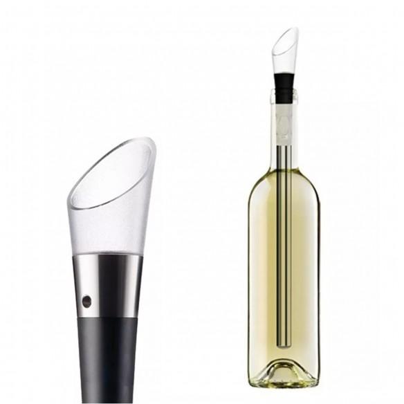 Enfriador de Vino en Acero inoxidable, deleitate con el vino a su temperatura adecuada