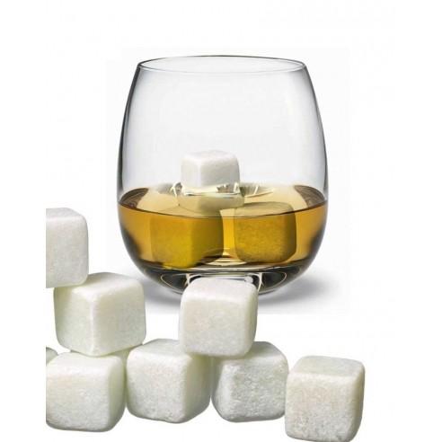 Set x9 Hielo de Roca Piedras térmicas para el Verdadero Whisky en las rocas