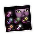 Lentes de contacto U.V. Jelly de Neón Magic Flash Brilla en la Disco Jelly