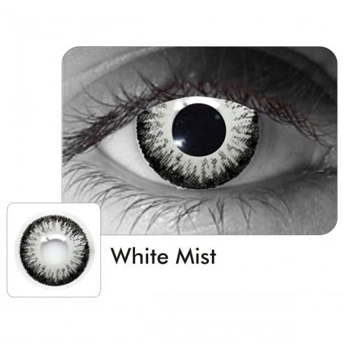 Lentes de Contacto White Mist Void Blanco