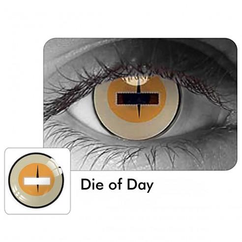 Crazy Lentes Blind Die Of Day Nublan Visión