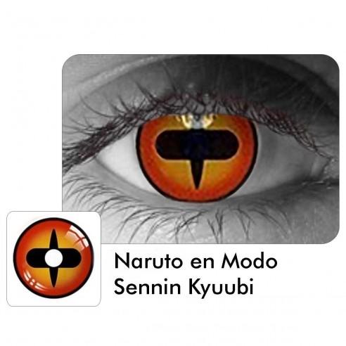 Lentes de Contacto Anime Naruto Senin Kyuubi