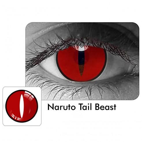 Lentes de Contacto Anime Naruto Tail Breast