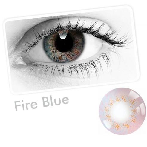 Lentes Cosplay Carbee Fire Anime Iris Multicolor