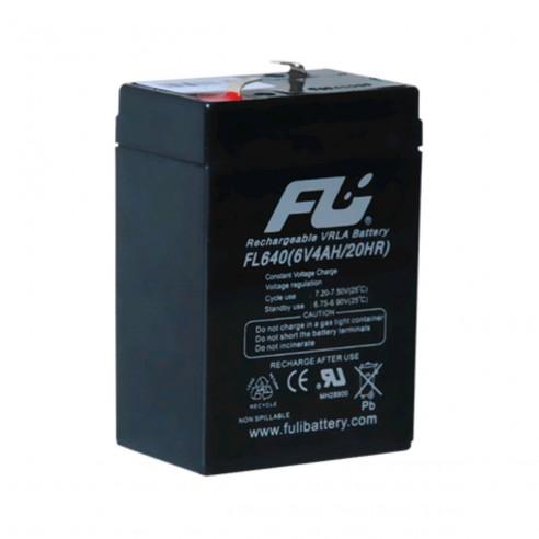 Batería Sellada FuliBattery 6V-4AH ref FL640GS