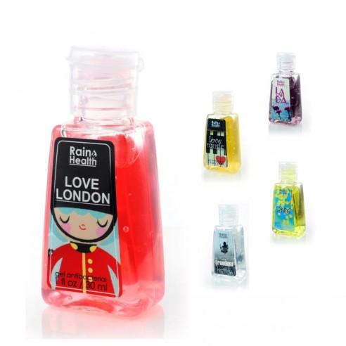 Gel AntiBacterial Rain Health limpia y desinfecta tus manos con exquisito aroma