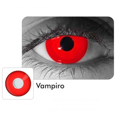 Lentes Locos de Vampiro Crazy Lentes Halloween Disfraz Brujas