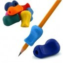 Adaptador ergonómico para escritura y sujetador de lápiz