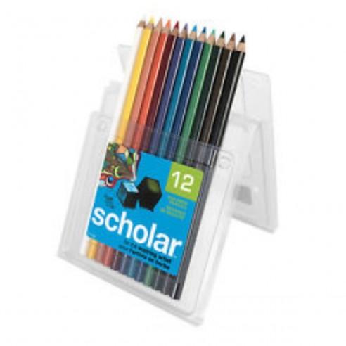 Prismacolor Scholar por 12 Uni Caja de Lápices de Colores
