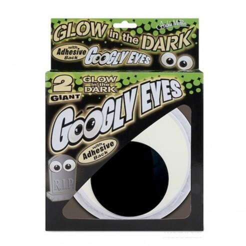 Divertidos Googly Eyes Emergency Glow in the Dark x2u Brilla Oscuridad