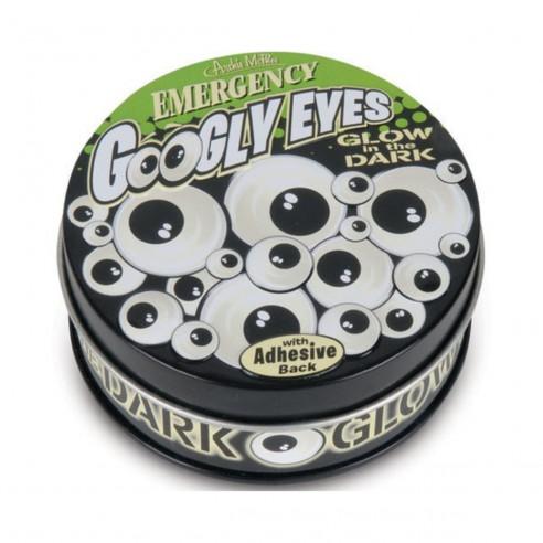 Divertidos Googly Eyes Emergency Glow in the dark x36 Brilla Oscuridad