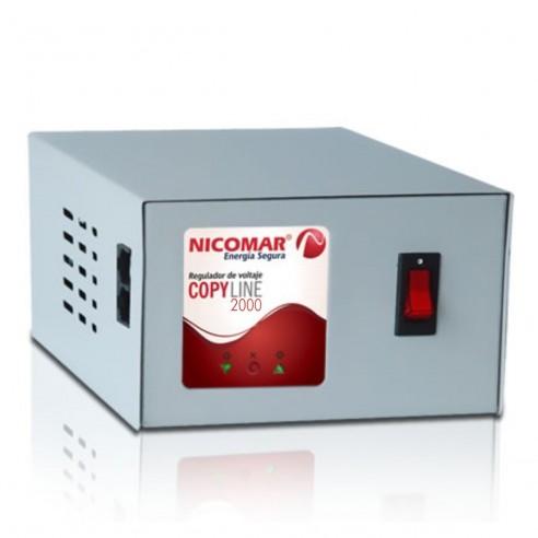 Regulador Electrónico de Voltaje 2000VA CopyLine 2.000