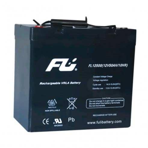 Batería Sellada FuliBattery 12V-55AH Ref. FL12550GS