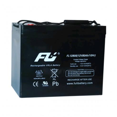 Batería Sellada FuliBattery12V-80AH Ref. FL12800GS