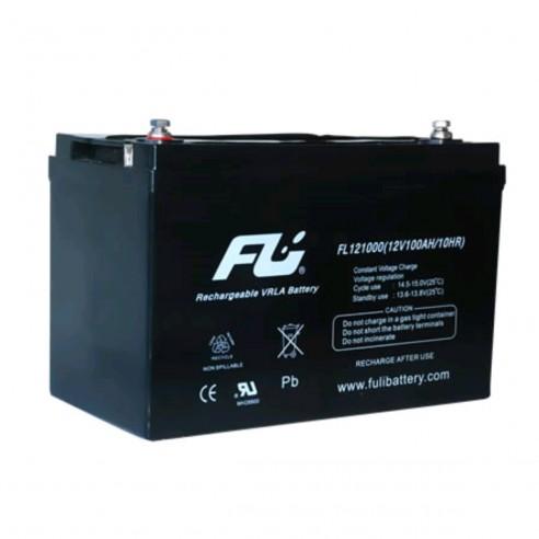 Batería Sellada FuliBattery 12V-100AH Ref. FL121000GS