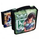 Estuche Porta-cd x40 Estampado Doble Argolla transporta tus cds dvds