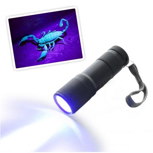 Llavero Led UV UltraVioleta luz Negra probador de billetes