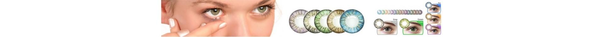 Lentes de Contacto Cosméticos en colores