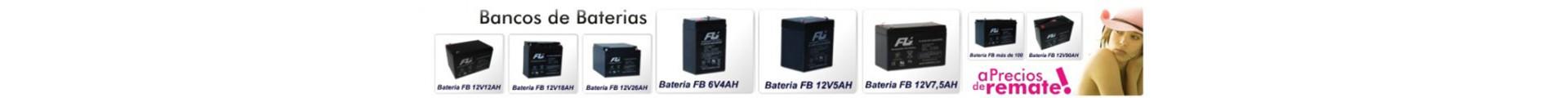 Bancos de baterías