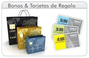 Bonos y Gift Card