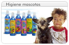 higiene de mascotas