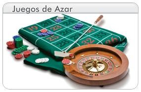 Juegos de azar, dados, poker, ruleta