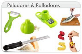 Peladores y Ralladores de Cocina