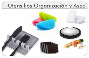Utensilios de Organización y Aseo de la cocina