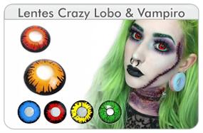 Lentes de contacto Vampiro y olf