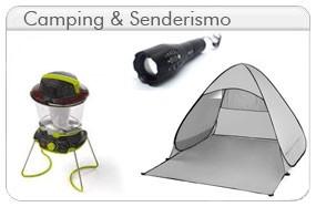 camping, senderismo, lamparas, linternas